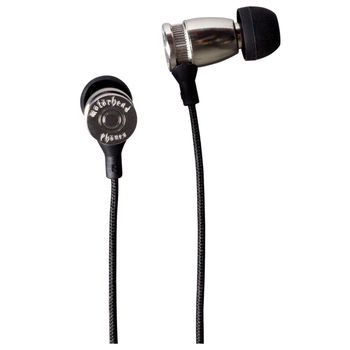 Sluchátka Motörheadphönes Trigger stříbrná + Pouzdro Burner XXL (černá/červená)