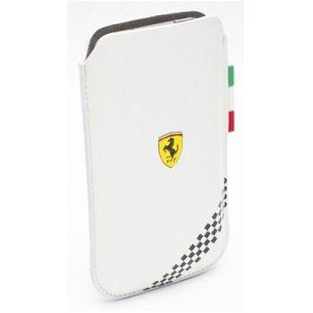Ferrari Formula 1 kožené pouzdro, velikost L, bílé