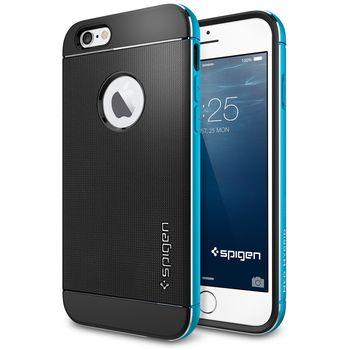 Spigen pouzdro Neo Hybrid Metal pro iPhone 6, modrá