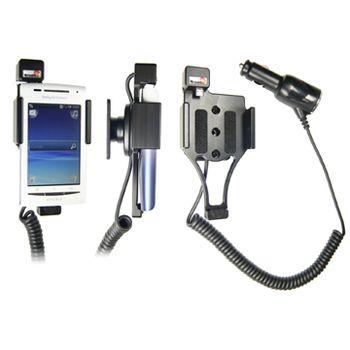 Brodit držák do auta pro Sony Ericsson Xperia X8 s nabíjením z cig. zapalovače