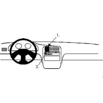 Brodit ProClip montážní konzole pro Daihatsu Charade 94-05 For Europe, na střed