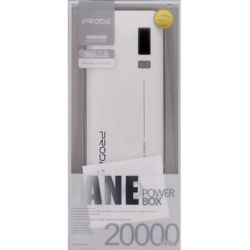 Remax Jane V10i PowerBanka 20000mAh Li-Pol bílá