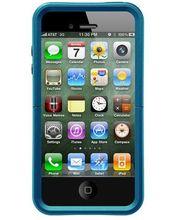 Otterbox - Apple iPhone 4/4S Reflex Series - modrá se vzorem