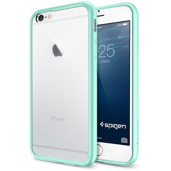 Spigen tenký kryt Ultra Hybrid pro iPhone 6, zelená
