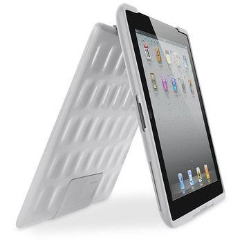 Belkin iPad2 pevné pouzdro se stojánkem, bílé (F8N606cwC01)