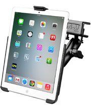 RAM Mounts držák na iPad Air s úchytem do letadla na clonu / na desku tloušťky 4,4 - 28,0 mm, sestava RAM-B-177-AP17U