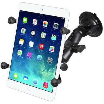 """RAM Mounts univerzální držák na tablet 7"""" až 8"""" do auta s extra silnou přísavkou na sklo, X-Grip, sestava RAM-B-166-UN8U"""