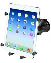 """RAM Mounts univerzální držák na tablet 9"""" a 10,1"""" do auta s extra silnou přísavkou na sklo, X-Grip, sestava RAM-B-166-UN9U"""