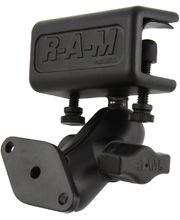 RAM Mounts sestava s lichoběž. adaptérem, s krátkým ramenem s úchytem na desku o tloušťce 4,4 - 28,0 mm, RAM-B-177U