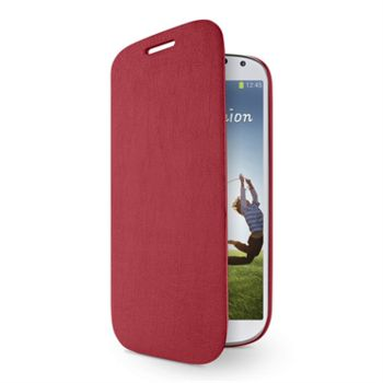 Belkin uzavíratelné pouzdro s flipem pro Samsung Galaxy S4, červené