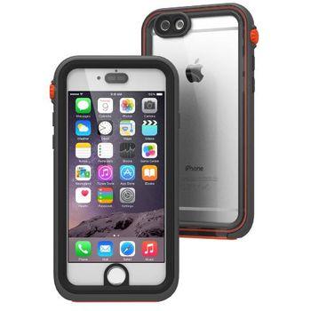 Catalyst vodotěsné pouzdro pro iPhone 6, černo-oranžová