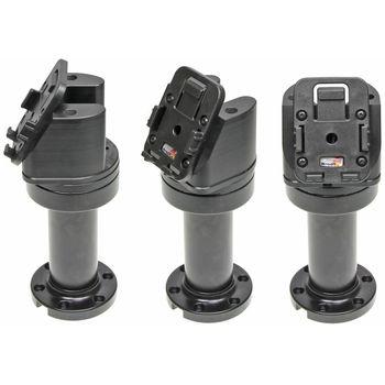 Brodit sestava otočného montážního podstavce a MultiMove clipu, výška 165 mm, sklon 60°, černý, (215632)