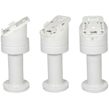 Brodit sestava otočného montážního podstavce a MultiMove clipu, výška 159 mm, sklon 30°, bílý, (216630)