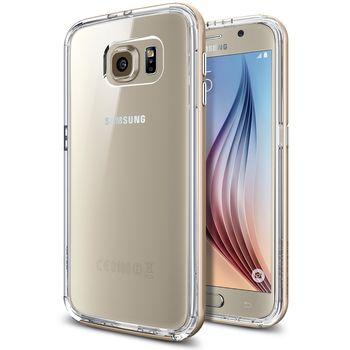 Spigen pouzdro Neo Hybrid CC pro Samsung Galaxy S6, zlatá