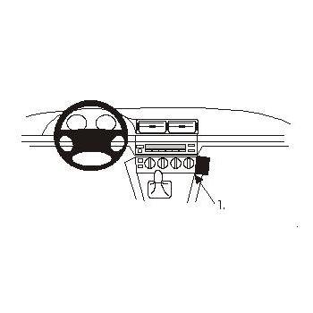 Brodit ProClip montážní konzole pro BMW 520-540/M5 E39 96-03
