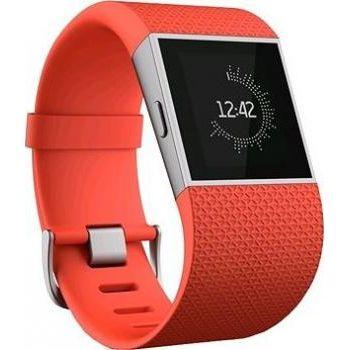 Fitbit Surge, velikost L, oranžový