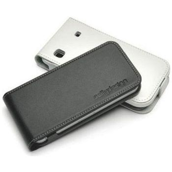 Pouzdro kožené vertikální CELLY FACE pro Nokia N8, černé