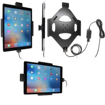 Brodit držák do auta na Apple iPad Pro bez pouzdra, se skrytým nabíjením, s pruž.jištěním