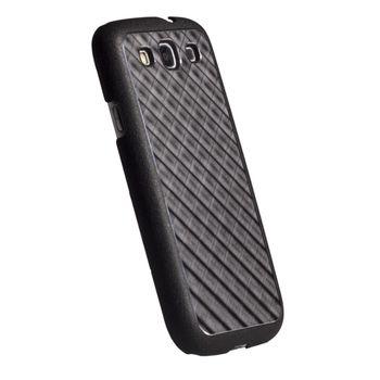 Krusell hard case - AluCover - Samsung i9300 Galaxy S III (černá mřížka)