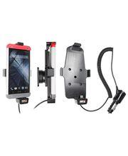 Brodit držák do auta na HTC One v pouzdru i bez, s nabíjením z cig. zapalovače, s pruž. jištěním