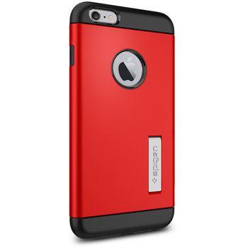 Spigen pevné pouzdro Slim Armor pro Apple iPhone 6 Plus, červená