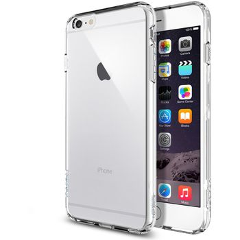 Spigen tenký kryt Ultra Hybrid pro Apple iPhone 6 Plus, transparentní