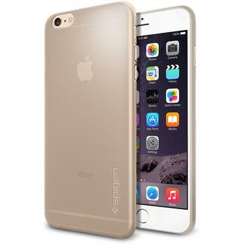 Spigen pouzdro Air Skin pro Apple iPhone 6 Plus, béžová