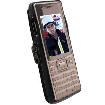 Krusell pouzdro Classic - Sony Ericsson J10i2 Elm (Susan)