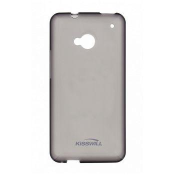 Kisswill TPU ochranný kryt pro Samsung E500 Galaxy E5, černý