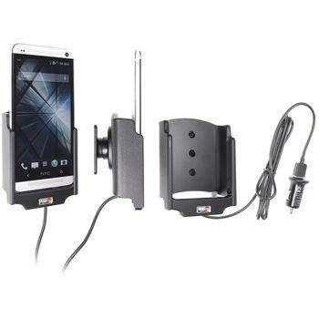 Brodit držák do auta na HTC One M7 bez pouzdra, s nabíjením z cig. zapalovače/USB
