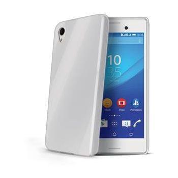 Celly TPU pouzdro Gelskin pro Sony Xperia M4 Aqua, bezbarvé
