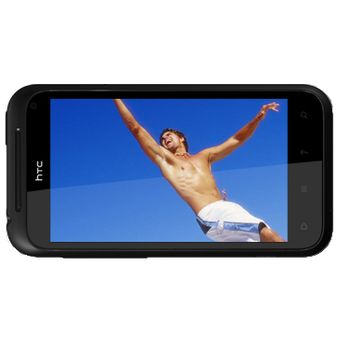 HTC Incredible S červená + Solární nabíječka Powermonkey-eXplorer