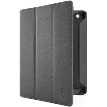 Belkin iPad 3 pouzdro Pro Trifold Folio, PU kůže, černé (F8N755cwC00)