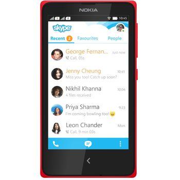 Nokia X Dual Sim červená