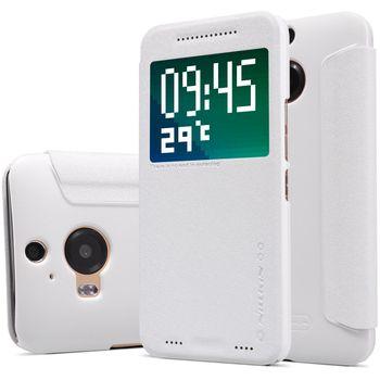 Nillkin flipové pouzdro Sparkle S-View pro HTC ONE A9, bílé