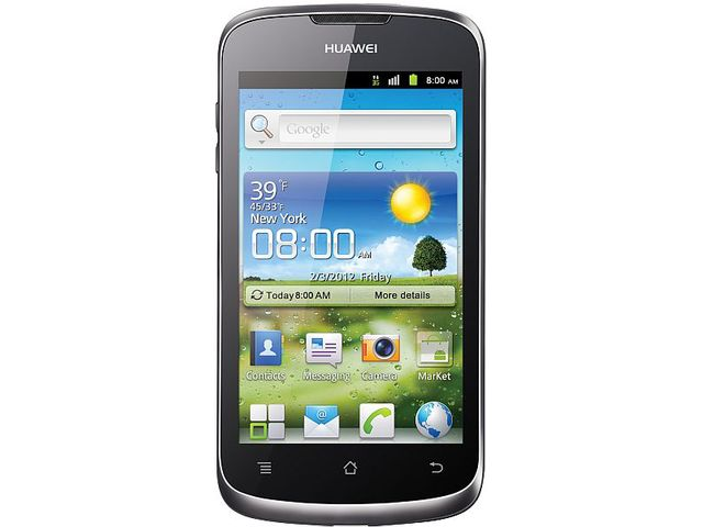 obsah balení Huawei Ascend G300 + 16GB karta